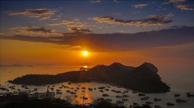 Sunset Labuan Bajo - foto flendyarie