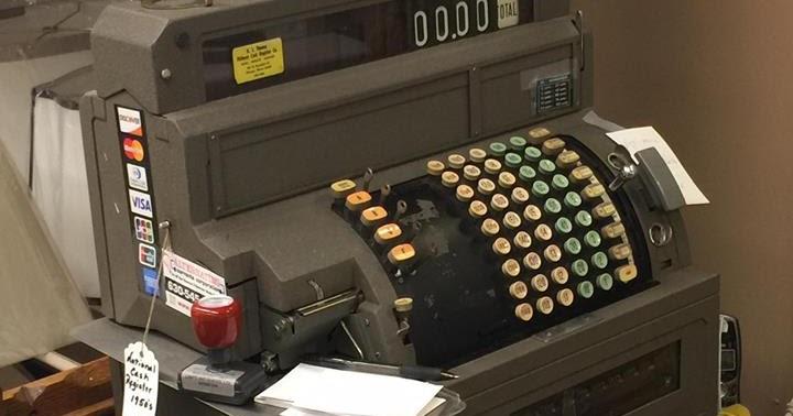 industrial history electro mechanical cash register. Black Bedroom Furniture Sets. Home Design Ideas