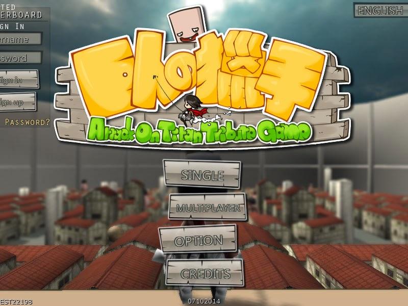 Shingeki no kyojin tribute game download wizardxsonar.