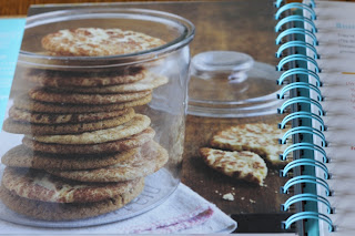 snickerdoodles stacked in a jar