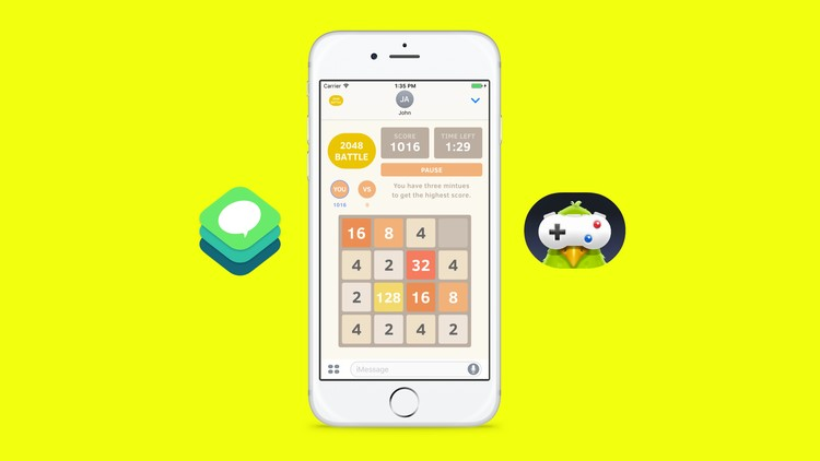 How to Build an iMessage Game -  Udemy course