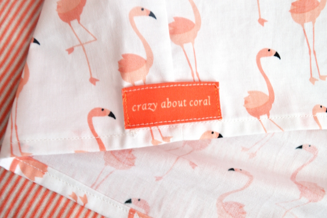 flamingo ruffle sleeve tank diy crazy about coral