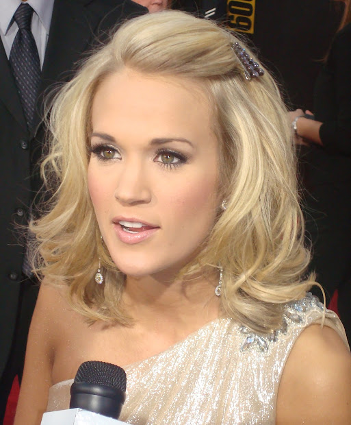 celebrity hairstyle carrie underwood