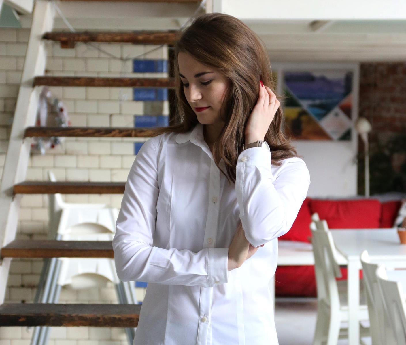 idealna biała koszula