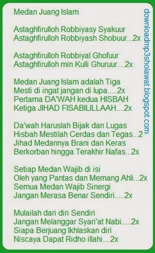télécharger lagu medan juang islamic