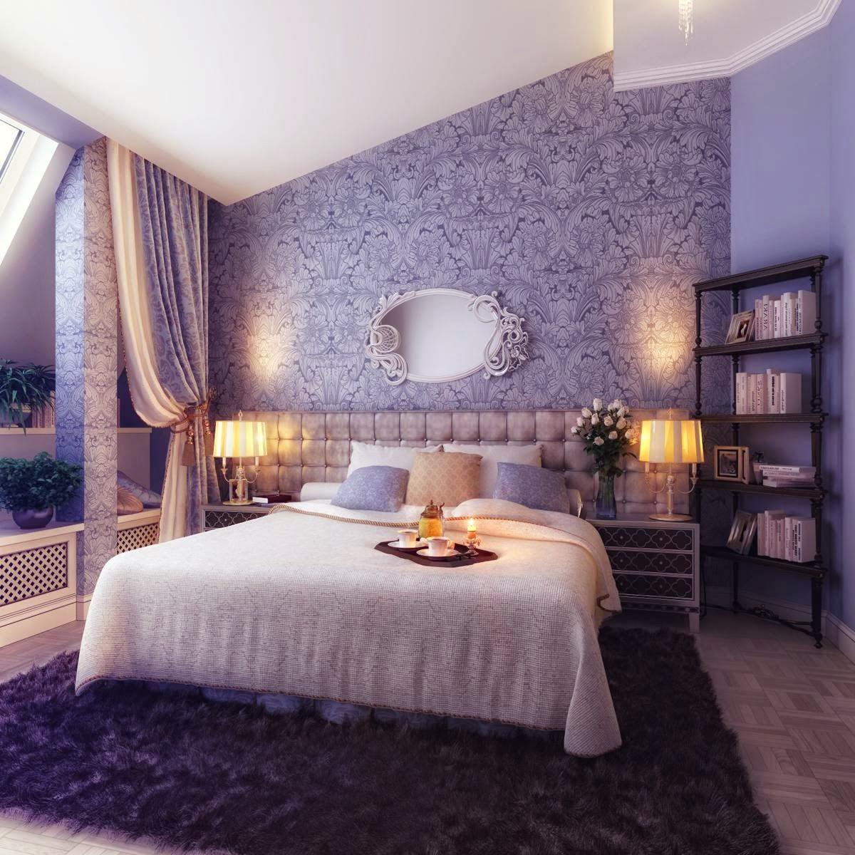 habitación matrimonial romántica