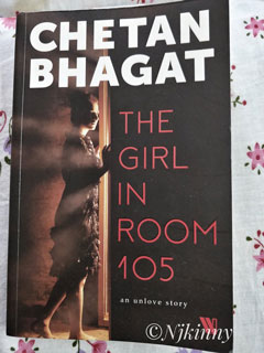 Book Review The Girl in Room 105 by Chetan Bhagat -Njkinny's Blog