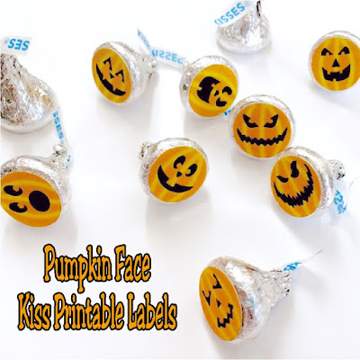 Bring these super cute Halloween pumpkin kisses to your Halloween party. The kisses are a sweet and easy addition.  You can grab them today and print out today for a yummy party tonight.