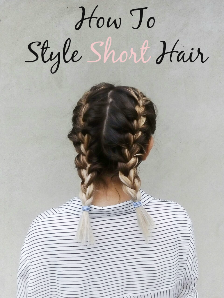 fashion with valentina blog,fashion blogger valentina batrac,teen fashion and beauty bloggers,croatian beauty bloggers,hrvatske beauty blogerice,how to style short hair,5 ways to style short hair,lob hairstyles,how to style lob haircut,heatless hairstyles for short hair