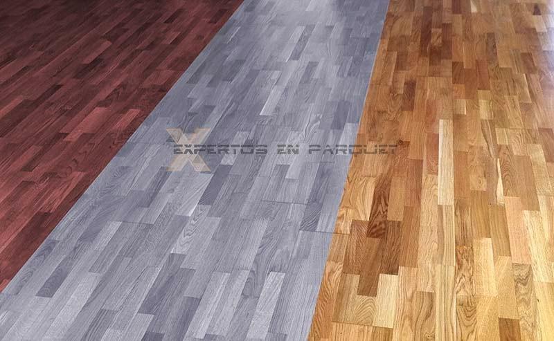 C mo cambiar el color de tu suelo de parquet o tarima for Suelo que simula parquet