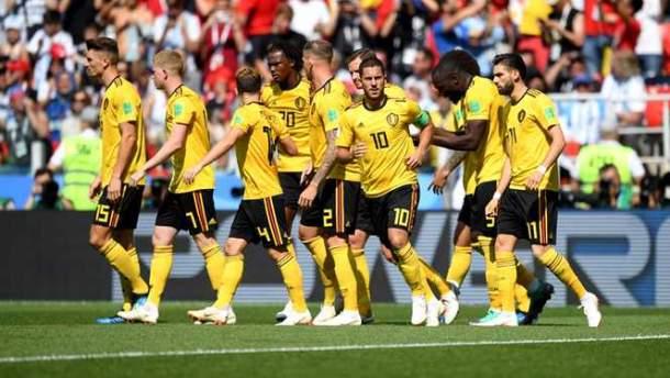 Belgia 5-2 Tunisia