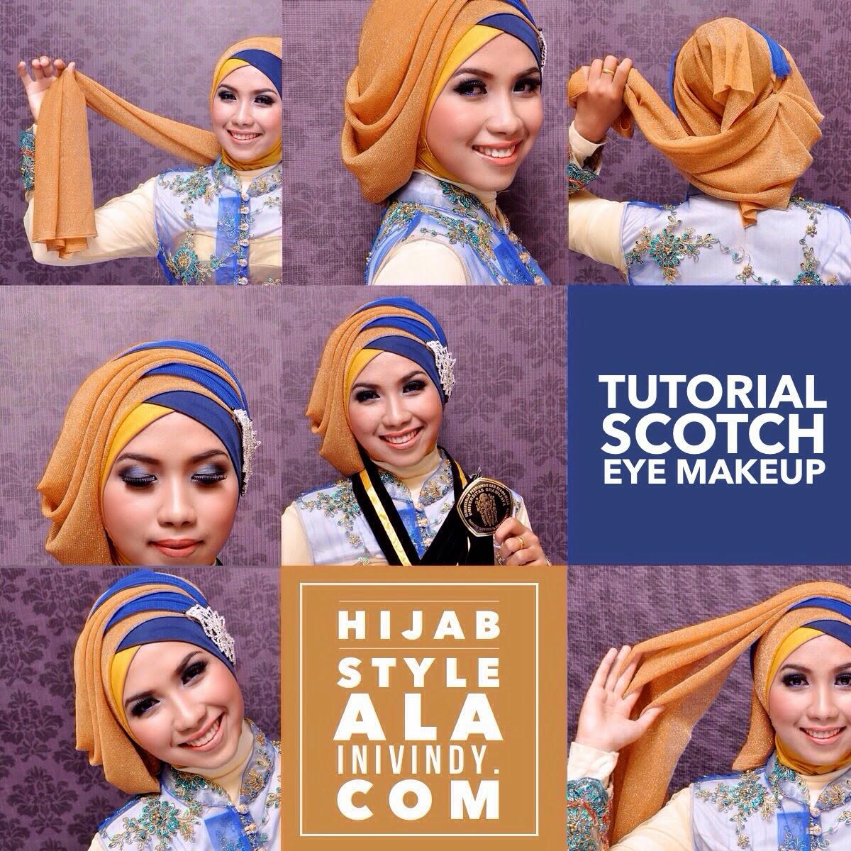 5 Tutorial Hijab Untuk Wisuda Terbaru 2016