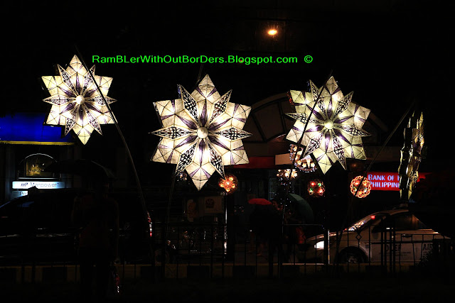 Parol, Christmas display, Makati, Manila, Philippines