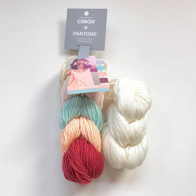 Giveaway Pantone yarn