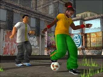 Freestyle urban football game