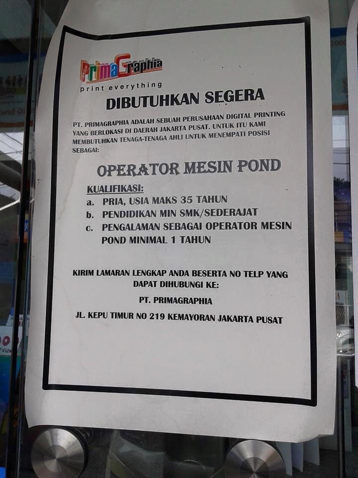 Lowongan Kerja Smk Wilayah Jakarta