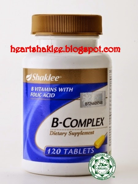 B COMPLEX WITH FOLIC ACID