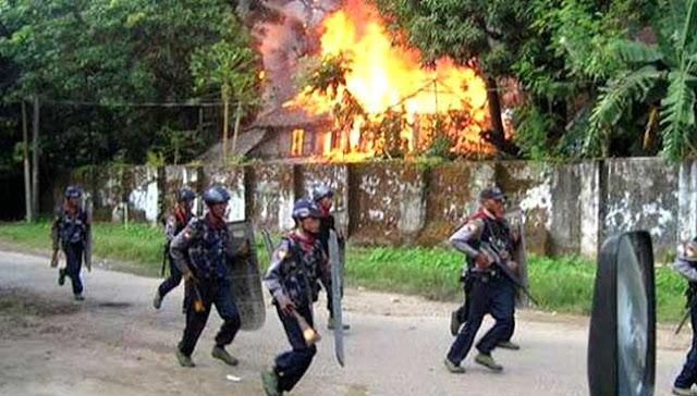 Militer Myanmar Serang Rohingya, Dua Wanita Meninggal