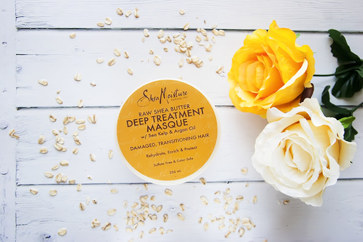 DUŻO MASŁA SHEA :-) SHEAMOISTURE, RAW SHEA BUTTER, DEEP TREATMENT MASQUE, MASKA DO WŁOSÓW