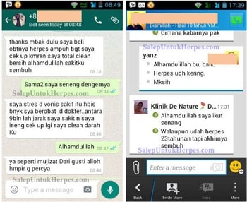 TESTI Obat Herpes Genital Herbal de Nature