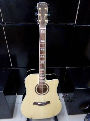 Bán Cây Đàn Acoustic Guitar Enya màu váng gỗ sang trọng giá 3 triệu