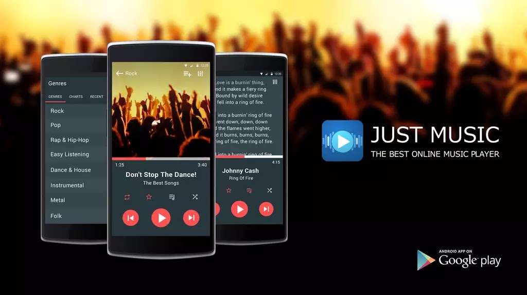 Just Music Player Pro v5 4 Cracked Apk For Android