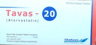 Tavas 20mg Tablet for cholesterol
