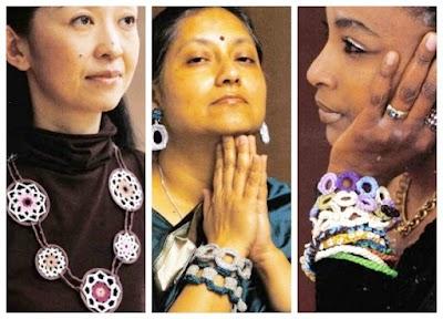 Mujeres de todo el mundo aman la bisutería a crochet
