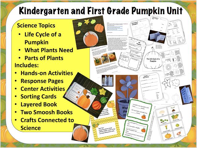pumpkin unit kindergarten