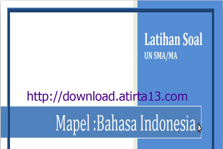 Download Contoh Soal Latihan Ujian Nasional Jenjang Sma Ma Tahun 2016 Contoh Berkas Guru