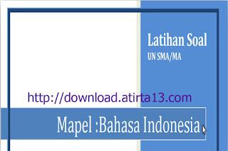 Download Contoh Soal Latihan Ujian Nasional Jenjang SMA/MA Tahun 2016
