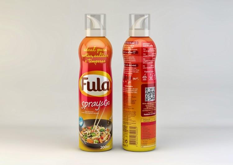 Óleo em spray Fula Spray&Go