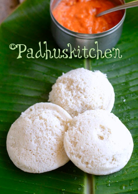 Pacharisi Idli-Raw Rice Idly