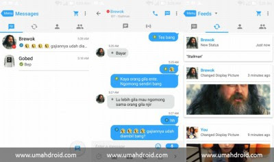 Download BBM MOD Tampilan Apple IOS 7 APK