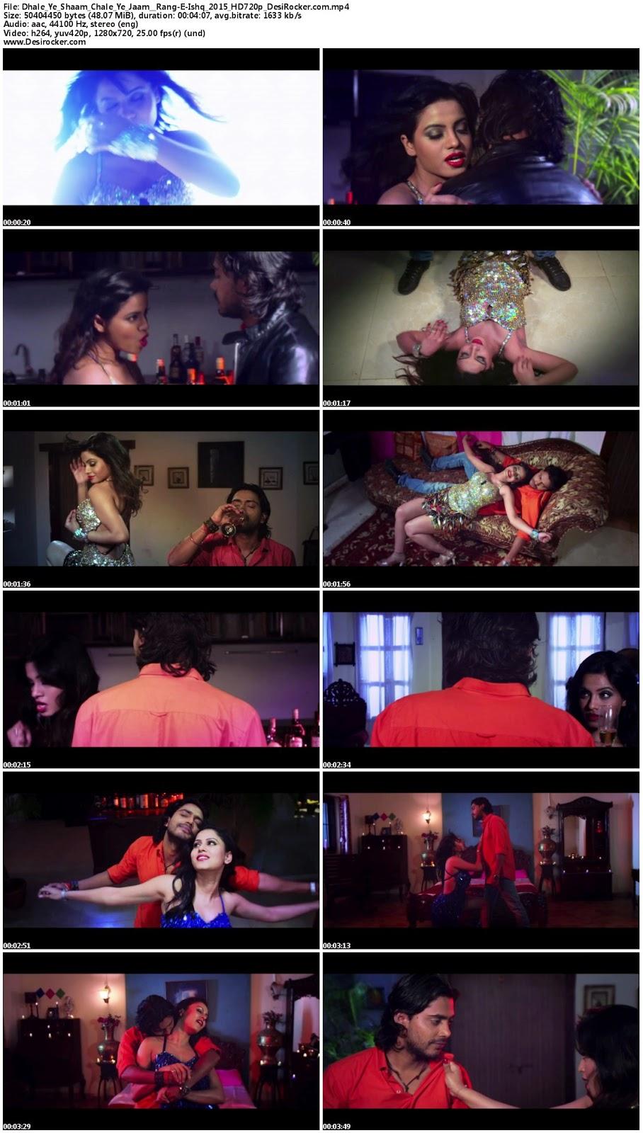 Download Dhale Ye Shaam Chale Ye Jaam – Rang-E-Ishq (2015) HD 720p Full Video Song