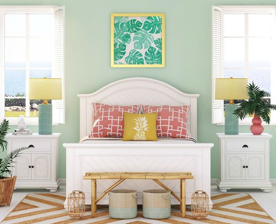 Simple Palm Beach Style Bedroom Joss Amp Main Beach Home