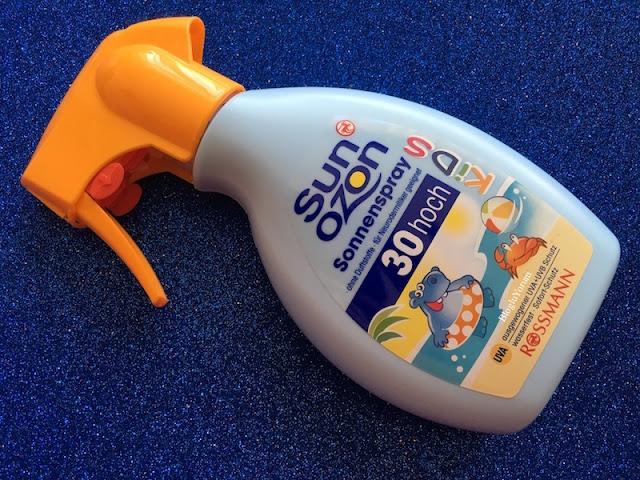 sun ozon çocuklar için güneş spreyi spf30
