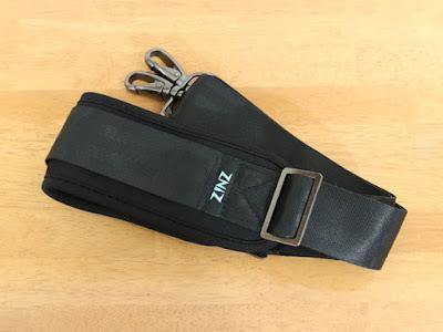 145CM ナイロン ショルダーベルト ZINZ ショルダーストラップ 超耐久性 肩掛けひも - メッセンジャーバッグ・PC バッグ・カメラケース・ビジネスバッグ・スポーツバッグ・ツールバッグ・ギターバッグ など (ブラック)