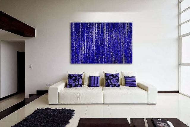 Home Wall Decoration with Modern Art