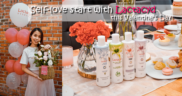 Self-love start with Lactacyd this Valentine's Day