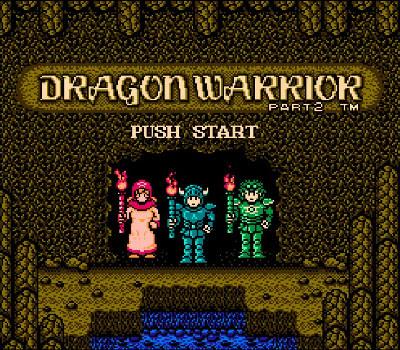 Dragon Warrior II - Título RPG
