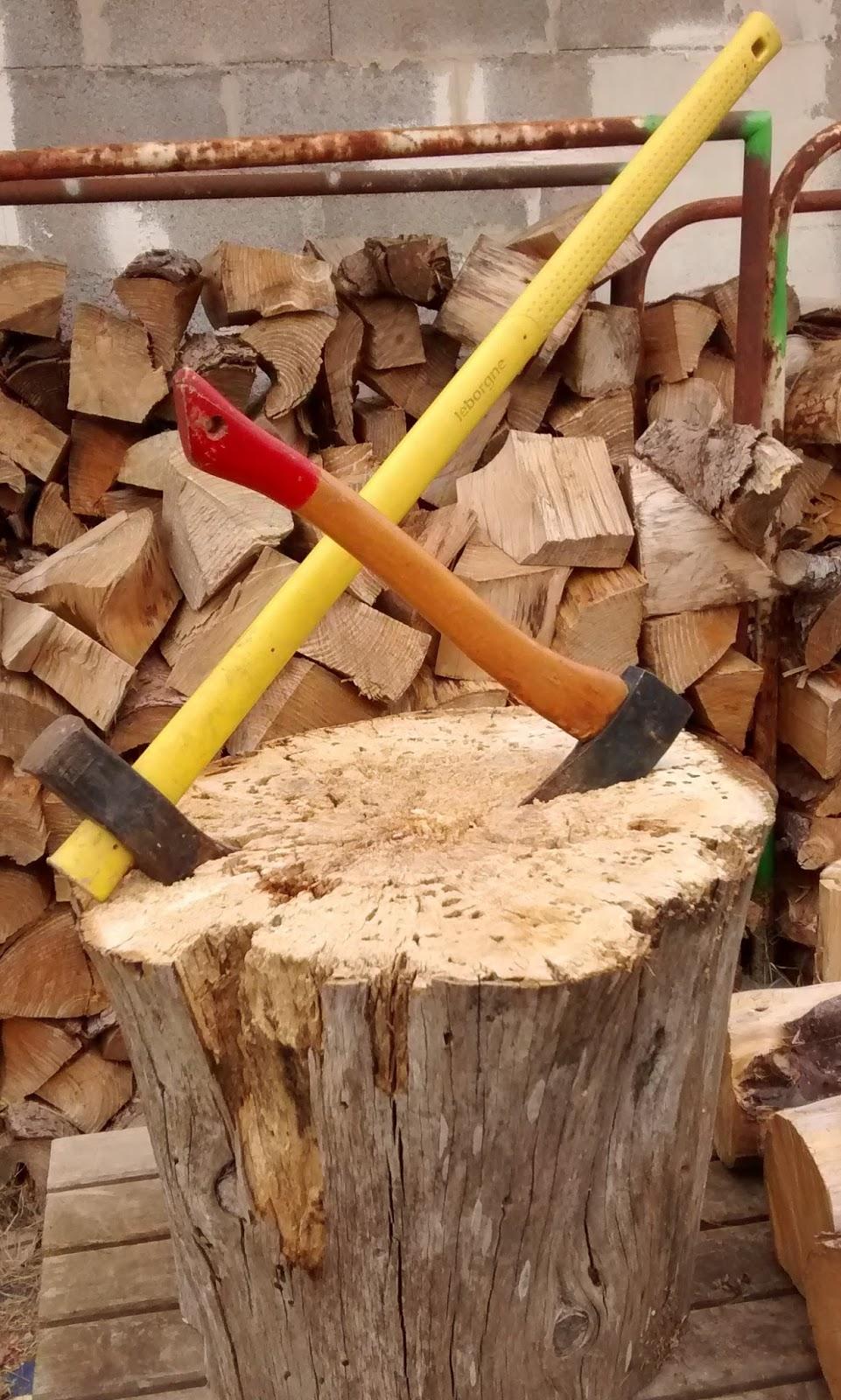 grinchou blog billot fendre le bois durable et efficace. Black Bedroom Furniture Sets. Home Design Ideas