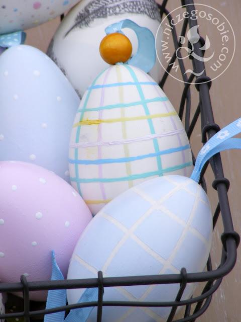 Niczego Sobie ozdoby wielkanocne, pastele, jaja, zajączki, hand-made
