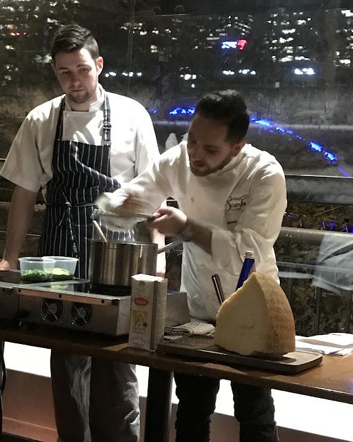 Tutto Bene, Risotto Masterclass, Head Chef Nathan Scarfo