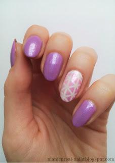 Pastelowy fiolet.