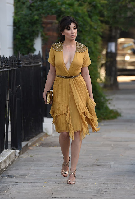 Daisy Lowe – Leaving Her Home Heading to an Event in London