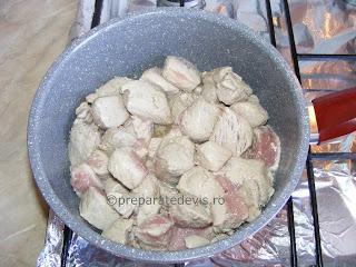 Carne de porc inabusita la ceaun retete culinare,