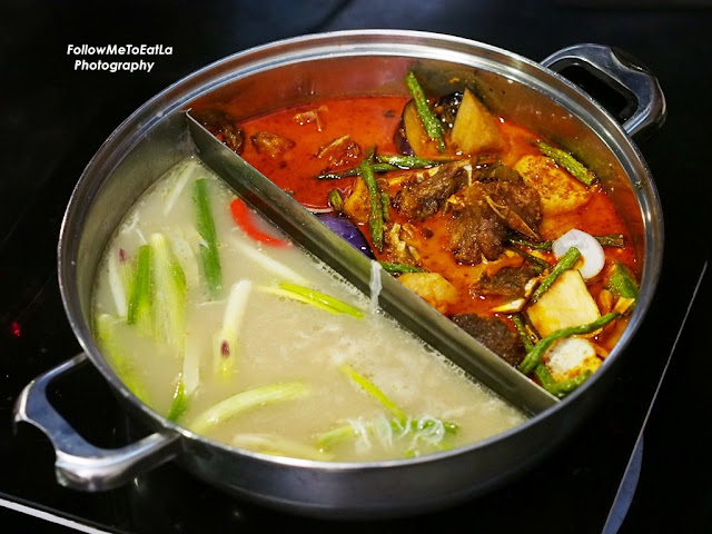 Spicy Broth & Curry Fish Pot