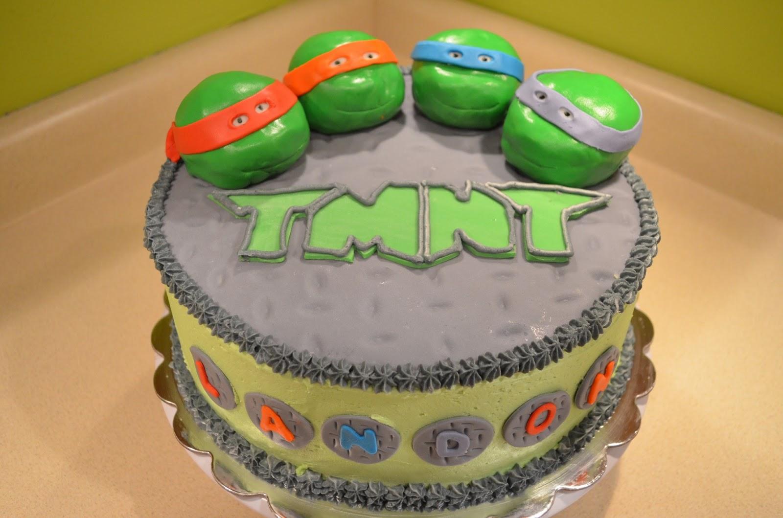Tmnt Decorated Cakes