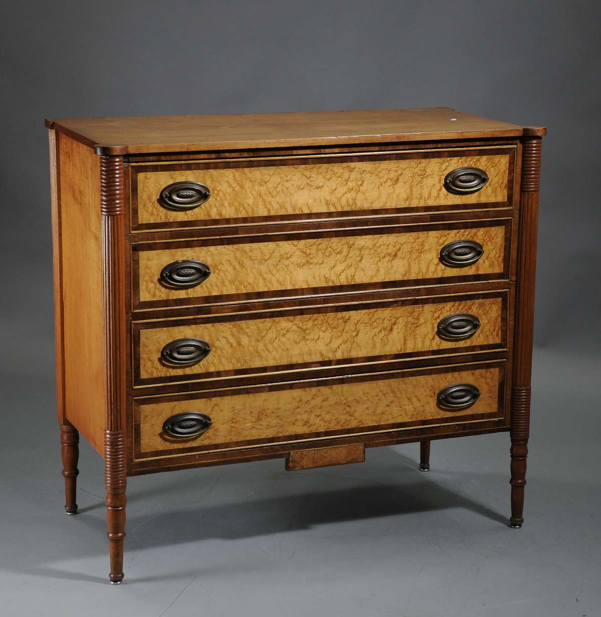 Antique Chest of Drawers New Hampshire - Doucette And Wolfe Fine Furniture  Makers: Antique Furniture - Antique Federal Furniture Antique Furniture